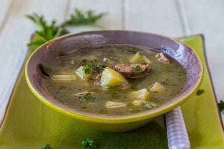 Slow Cooker Kale and Sausage Soup