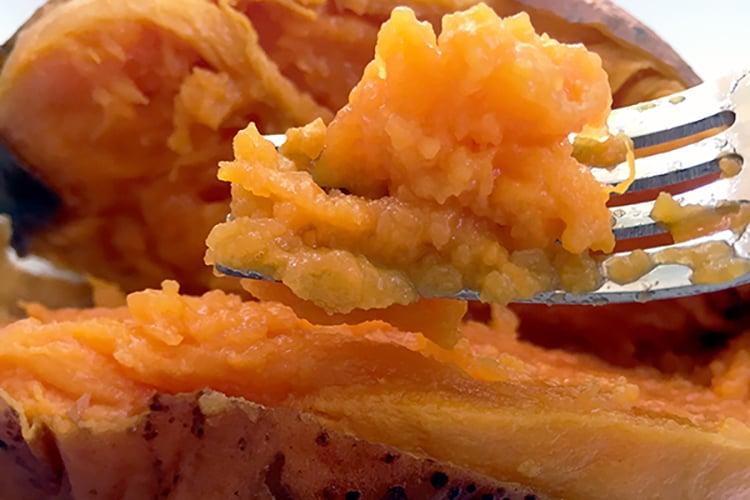 Crock Pot Baked Sweet Potatoes