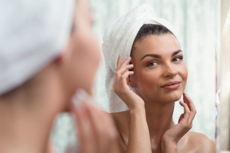 Exfoliating regularly will help shrink your pores and give you healthy, glowing skin.