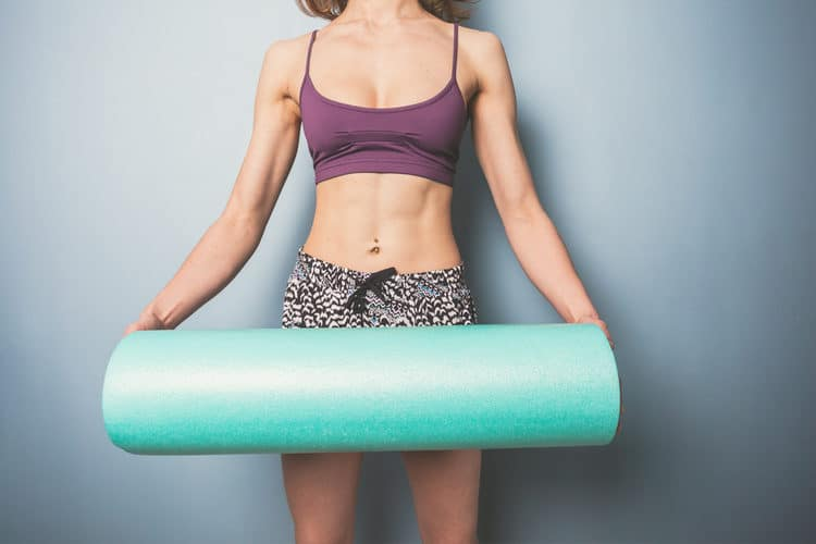 foam roller at home
