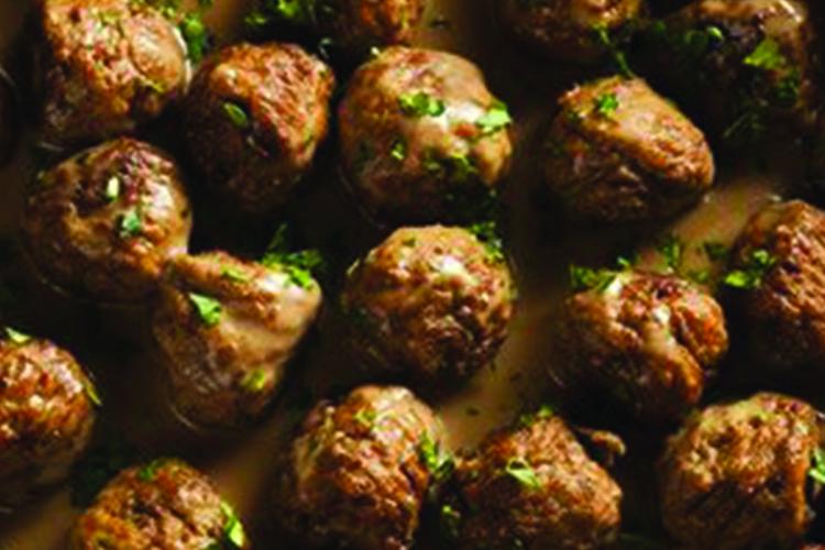 Simple Swedish Meatballs