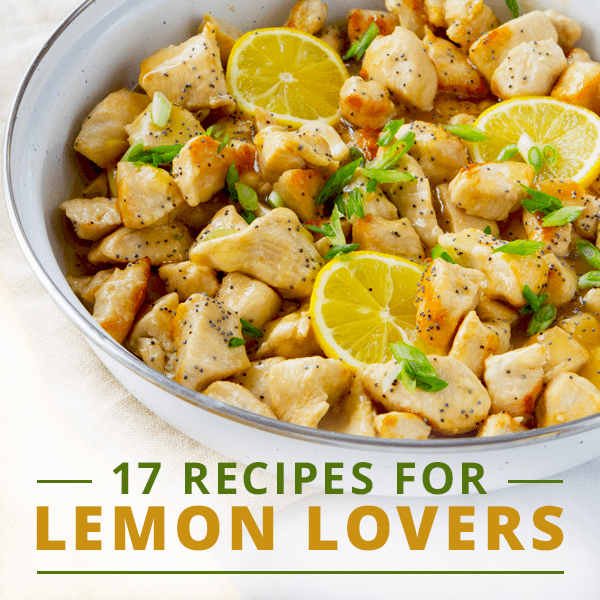 Fun Recipes with Lemon