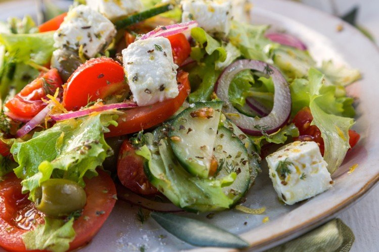 Healthiest Greek Salad Recipe