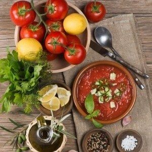 Easy Chilled Gazpacho