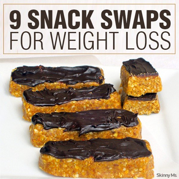 9 Snack Swaps For Weight Loss