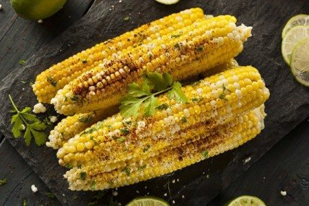 Clean Eating Mexican Corn on the Cob