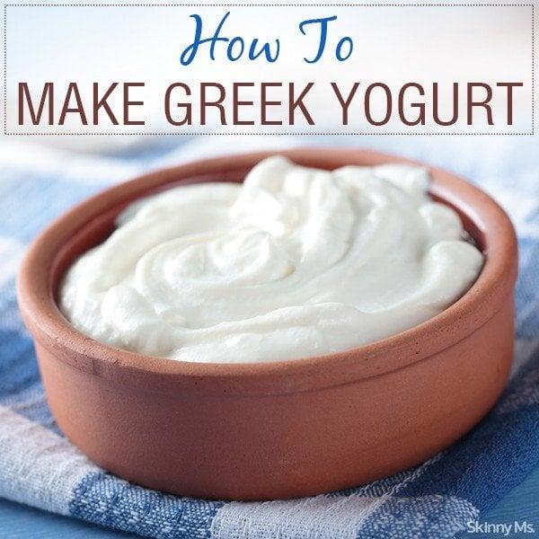 how to make greek yogurt