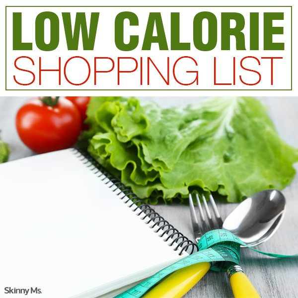 Low Calorie Shopping List