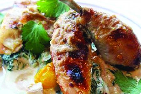 Marcus Samuelsson's Peanut Chicken Recipe
