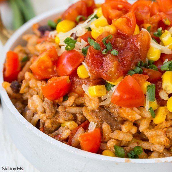 Skinny Burrito Bowl Recipe
