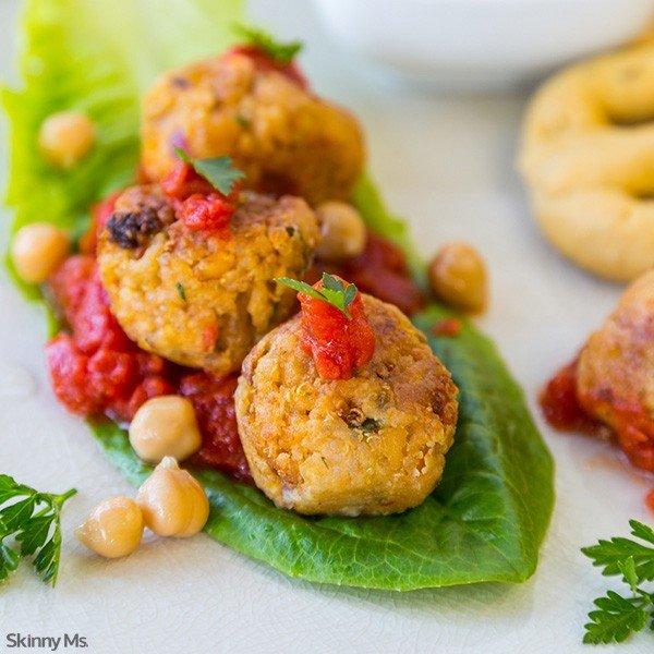 Skinny Quinoa Meatballs Recipe