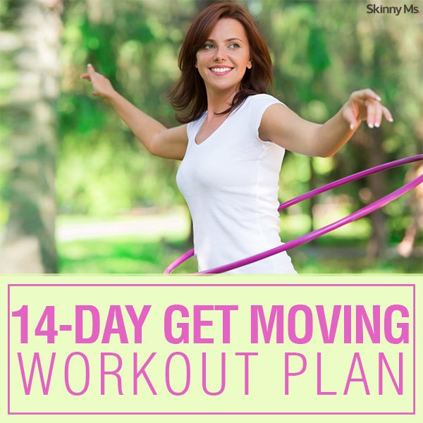 14-Day Get Moving Workout Plan