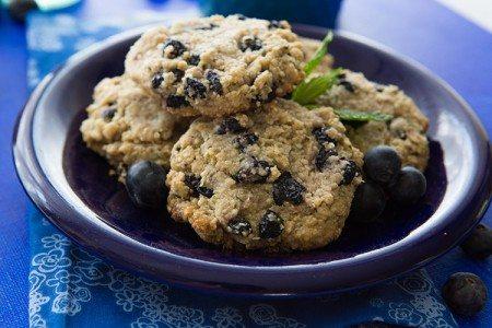 Blueberry Breakfast Cookies