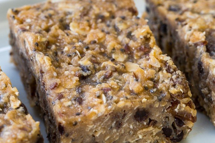 No-Bake Workout Bars | Energy Bar Recipes For A Healthy Afternoon Pick Me Up