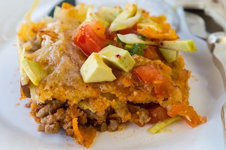Skinny Taco Casserole