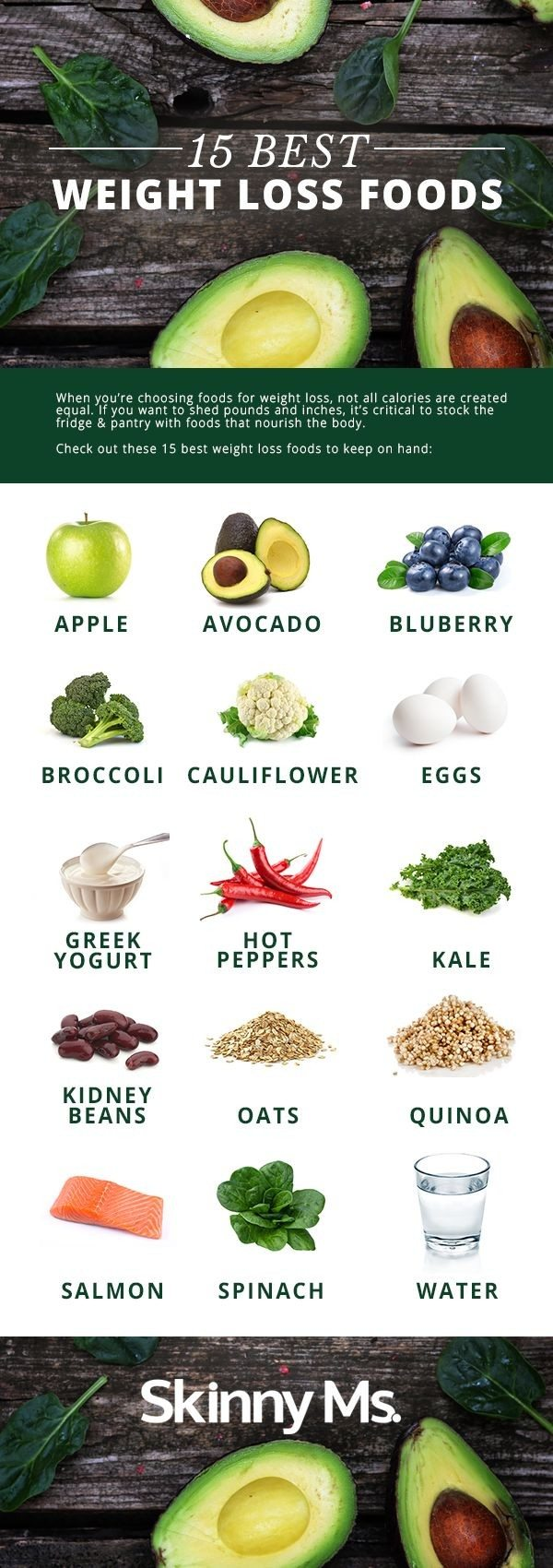 15 Best Weight Loss Foods