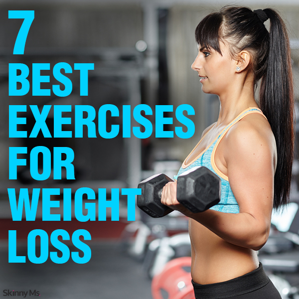 7 Best Exercises for Weightloss