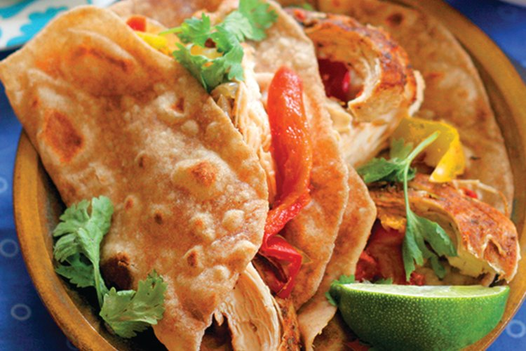 Clean Eating Whole Wheat Tortillas