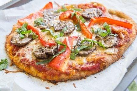 Flatbread Veggie Pizza