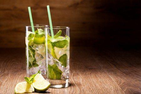 Minty Non-Alcoholic Mojito