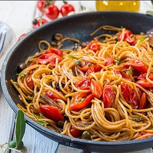 One-Pot Spaghetti Puttanesca