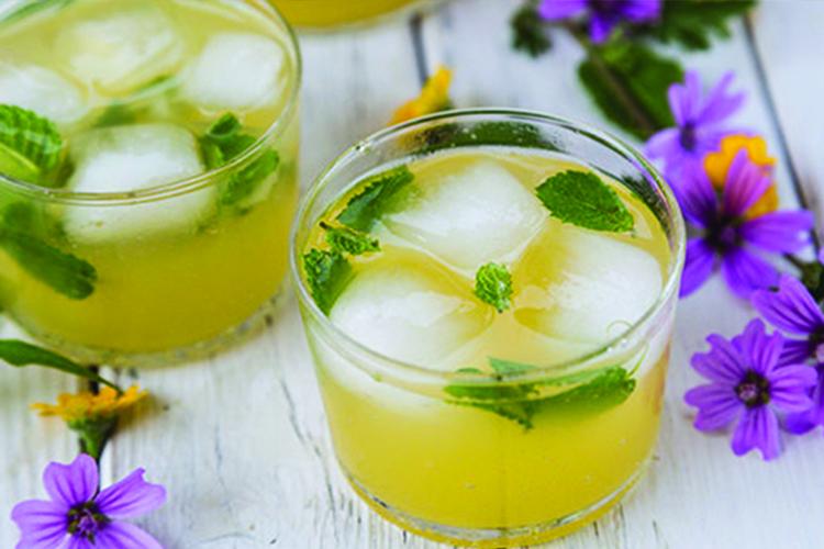 Pineapple Mint Spritzer