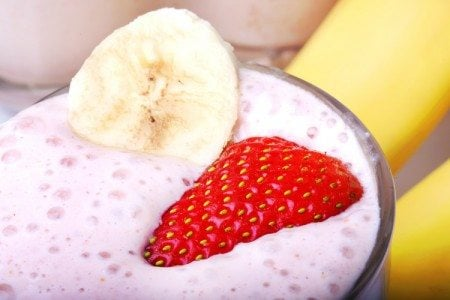Skinny Banana Split Protein Smoothie