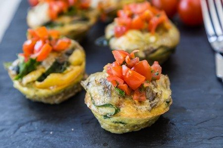 Spinach and Artichoke Quiche Cups