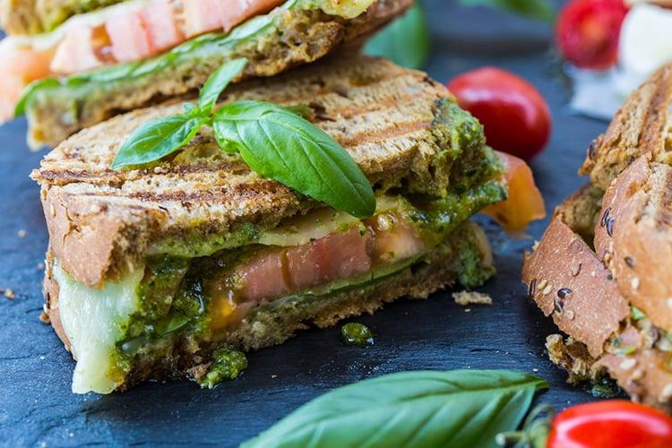 Italian Caprese Sandwich2