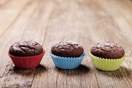 Oatmeal Chocolate Breakfast Muffins