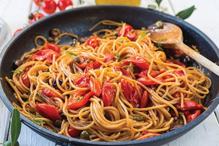 One-Pot Spaghetti Puttanesca