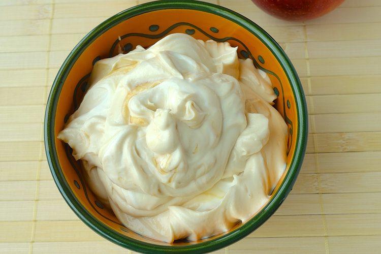 Peanut Butter Yogurt Honey Dip