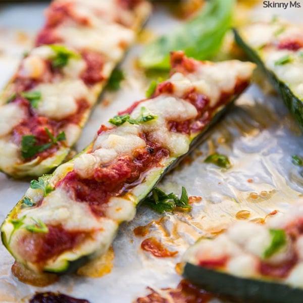 Pizza-Zucchini-Boats