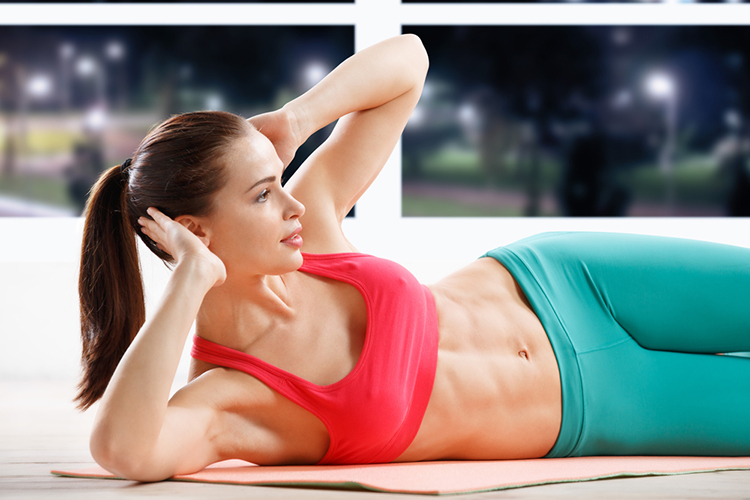 This total body Tabata workout pushes your body to it's limit for 20 full minutes