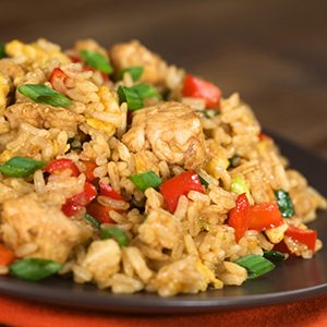 Clean Eating Chicken Fried Rice Thumbnail