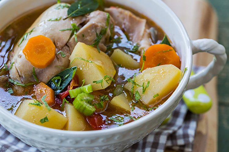 how to make a chicken stew in crock pot