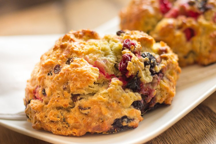 Easy Cranberry Scones Recipe