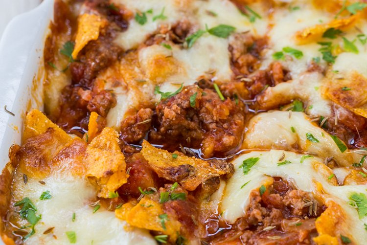Mexican Style Lasagna Bake