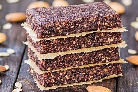 No-Bake Fruit Energy Bars