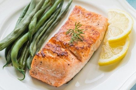 Oven-Grilled Salmon