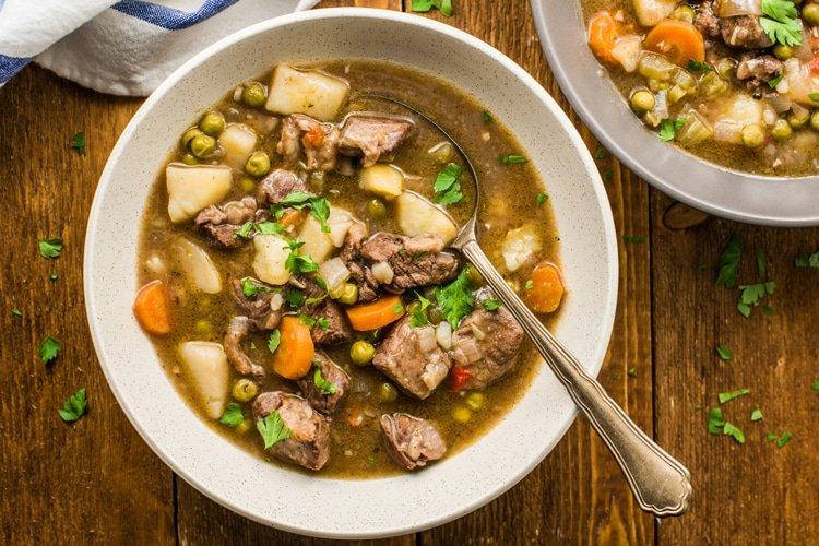 Do you like your beef stew thick or thin?