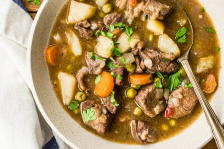 Slow Cooker Thick and Chunky Beef Stew