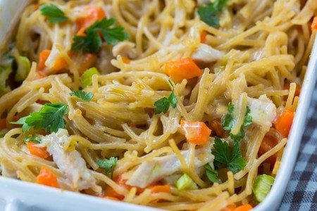 Chicken Noodle Bake