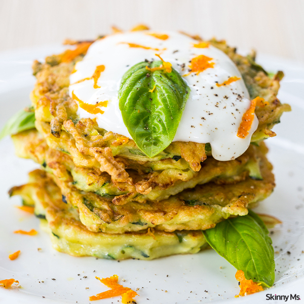 Quick and Easy Zucchini Fritters Recipe