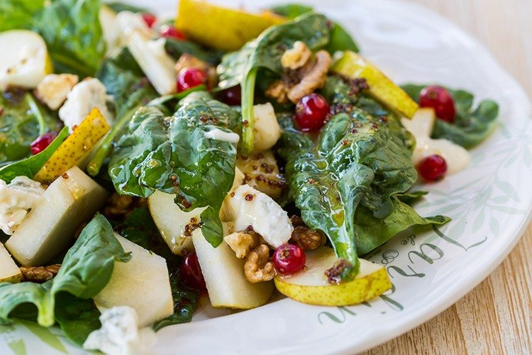 Harvest Salad with Maple Wanut Vinaigrette Recipe