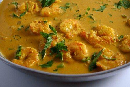 One-Pot Coconut Curry Shrimp