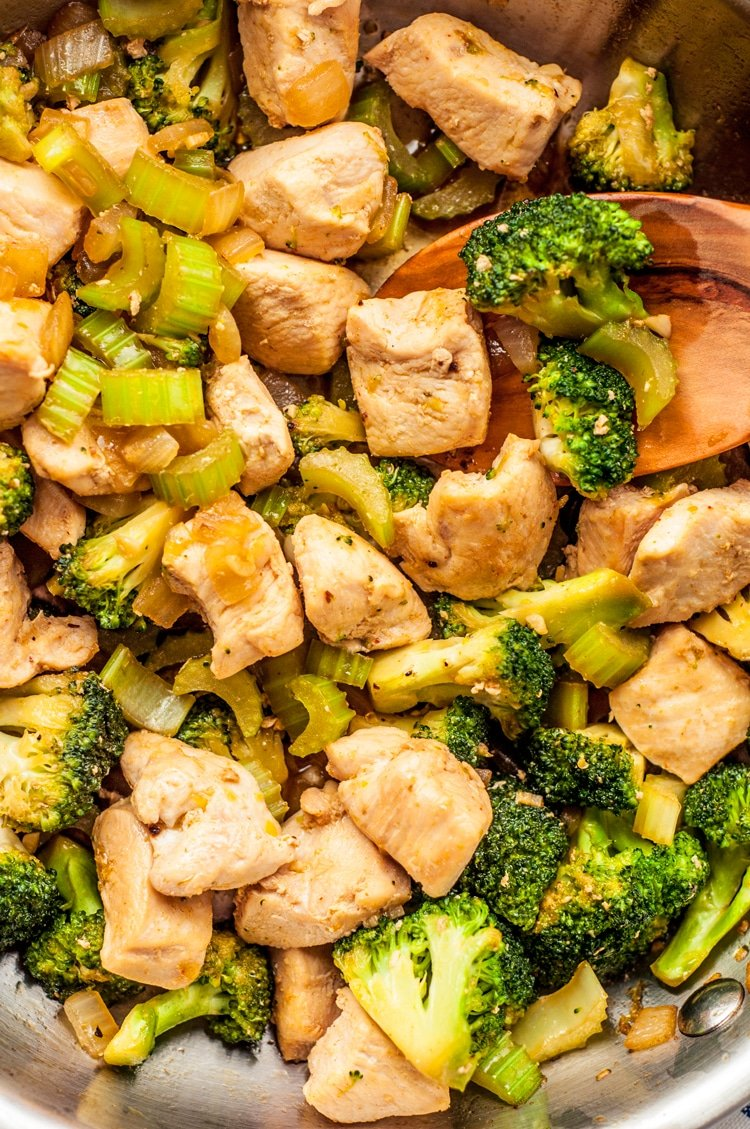 one skillet chicken and broccoli meal prep recipes