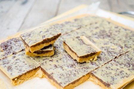 Peanut Butter & Dark Chocolate Squares