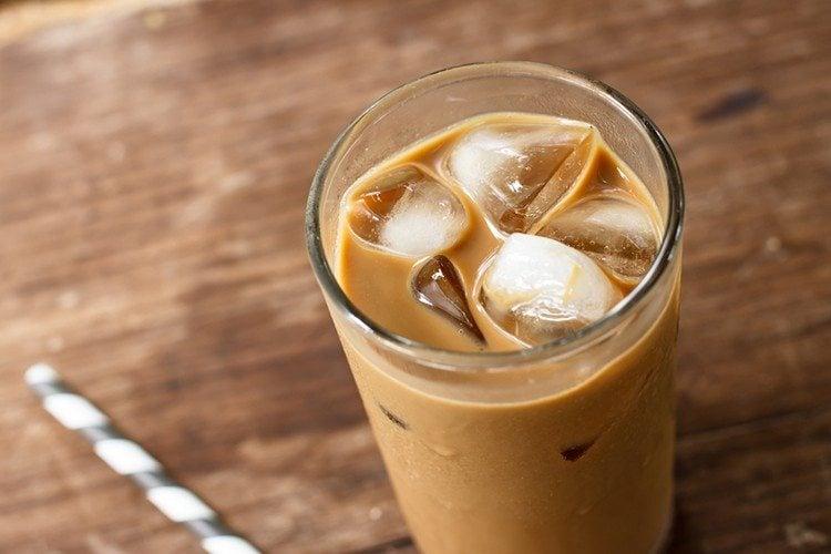 Skinny Iced Chai Latte