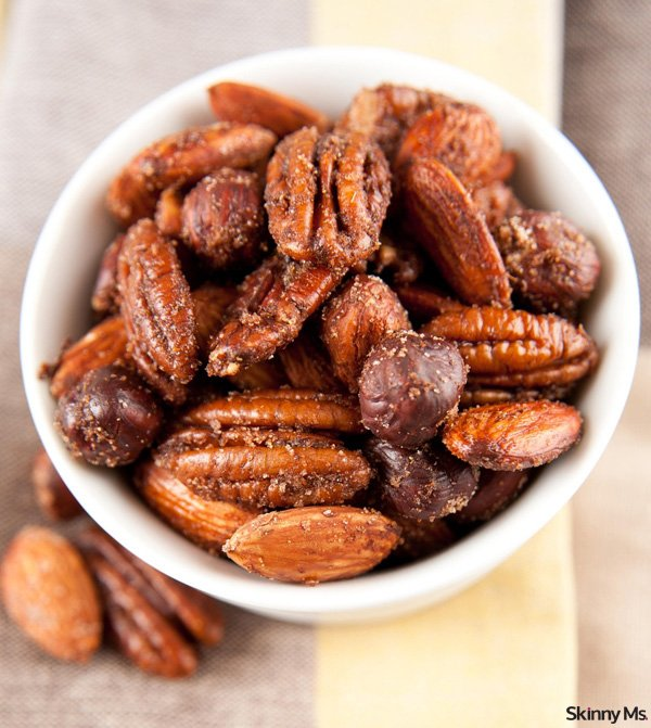 Sweet and Spicy Nuts - Skinny Ms.